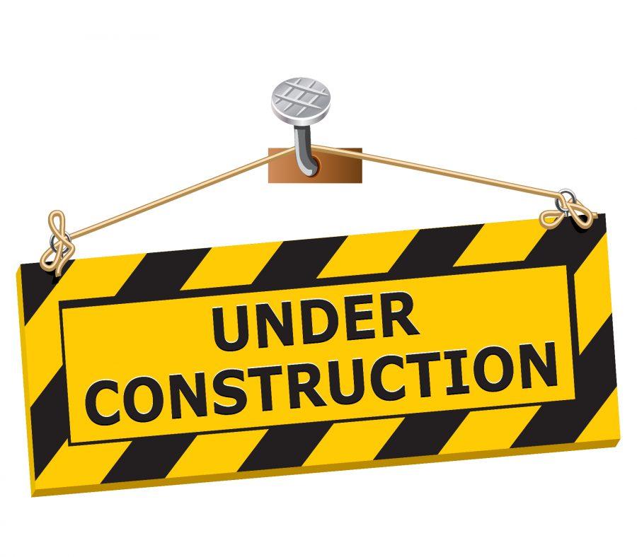 Construction+winds+down+as+semester+set+to+start