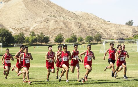 BC cross country prepared for conference preview meet