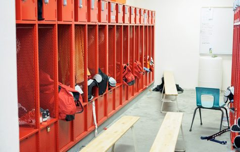 Field house gets face lift