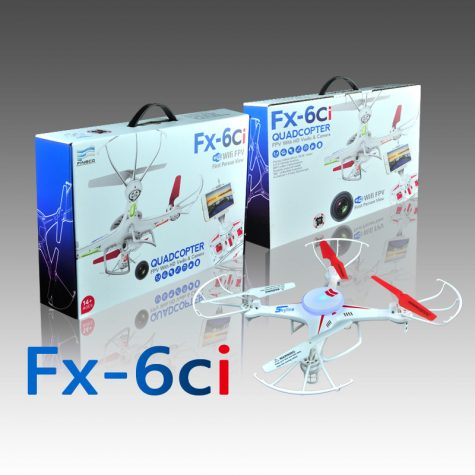 Product Review: The FX-6ci quadcopter falls short
