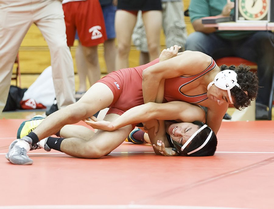 BC wrestling gaining early experience