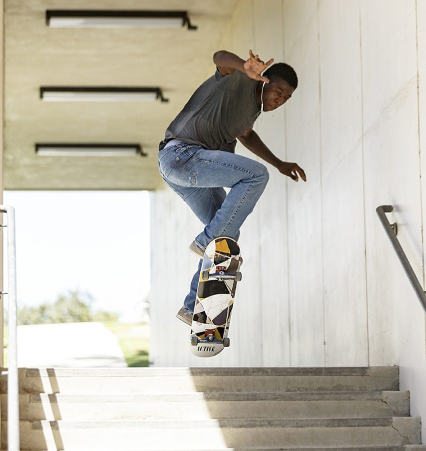 Local skateboarders have mixed feelings