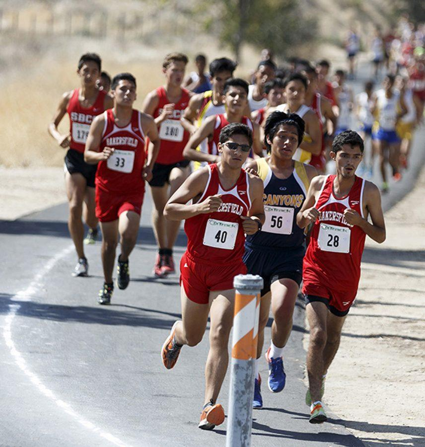 Cross country finishes low at meet