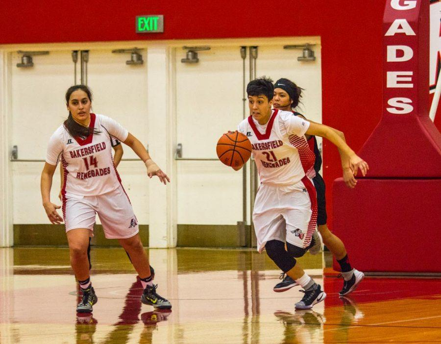 Women's basketball secures its first win