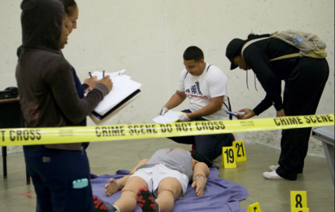 Mock murder tests student skills