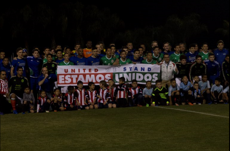 CSUB and Mexico's U-17 promoting