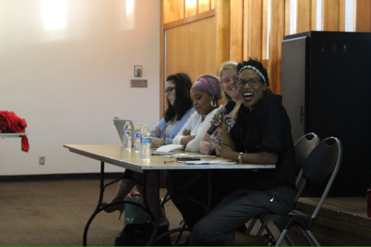 Jessica Grimes speaks about female identity and its limitations in availability in society.