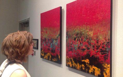 Professors' art on display