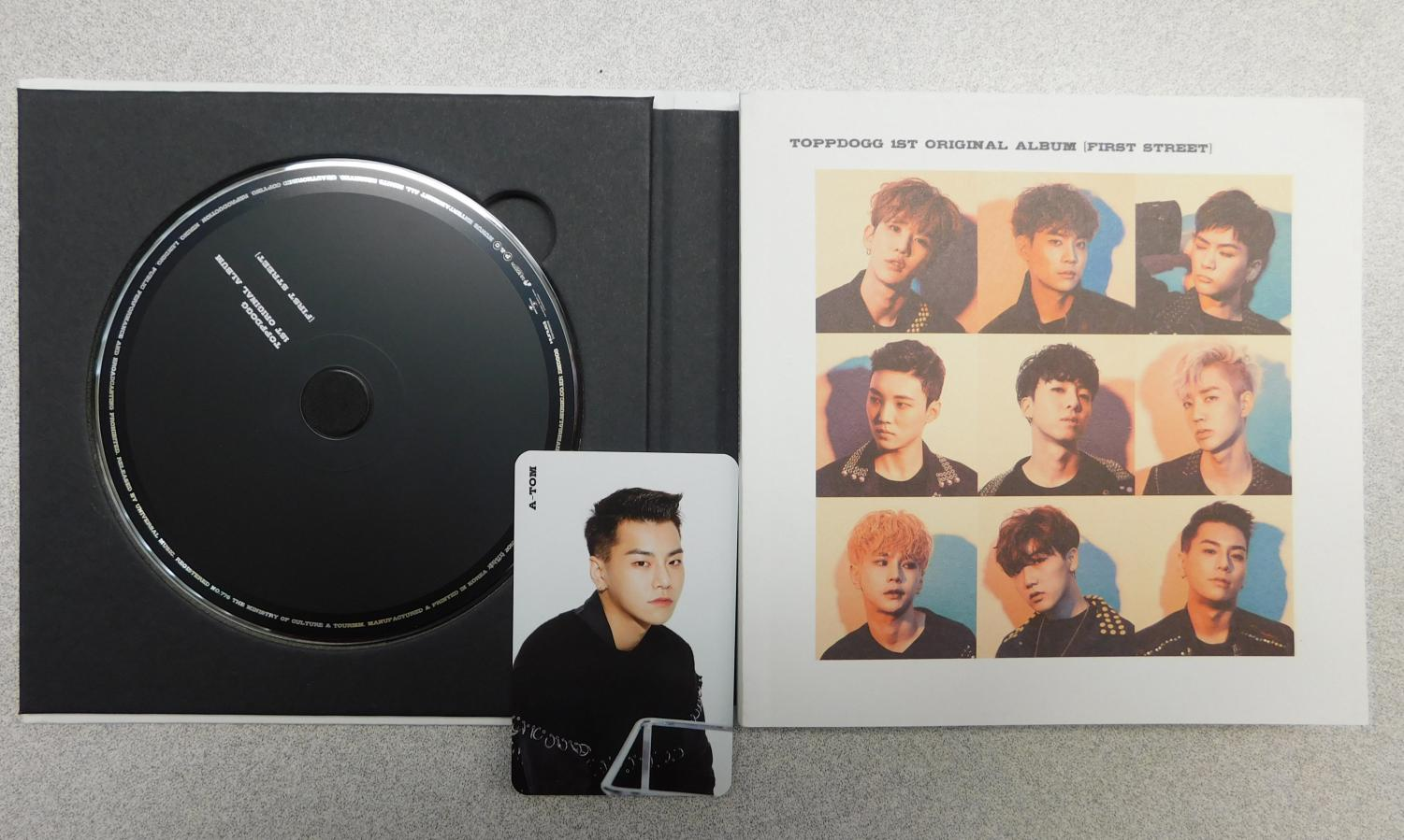 The physical copy of Topp Dogg's first original album