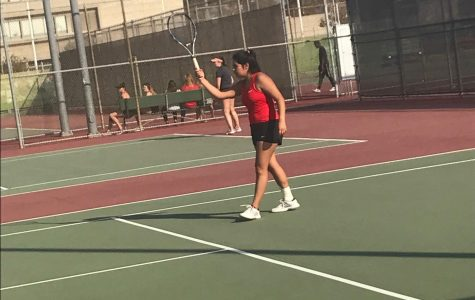 Women's Tennis Team overpowers Victor Valley