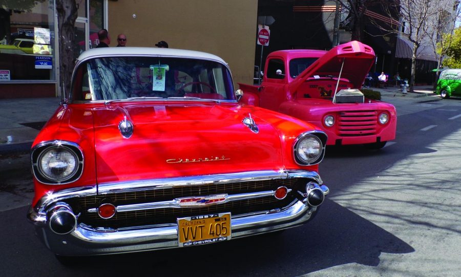 A classic Chevrolet at the 2nd annual Cruizin 4 Charity Car Show