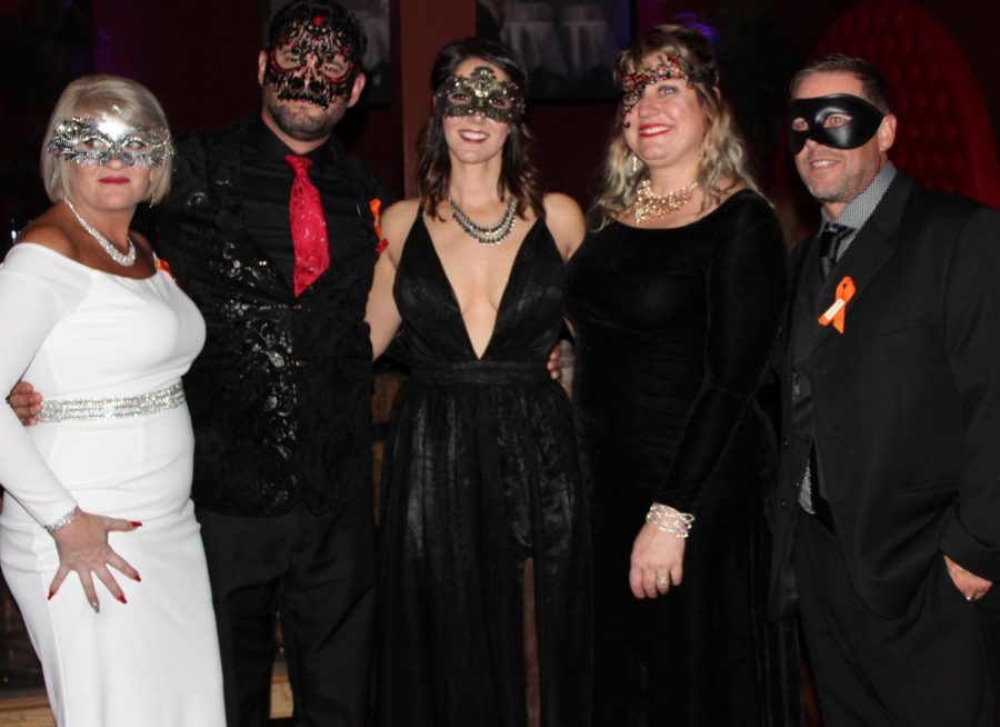Survivors of the Las Vegas shooting come together to be honored at the Sudden Heroes Masquerade Ball fundraiser.