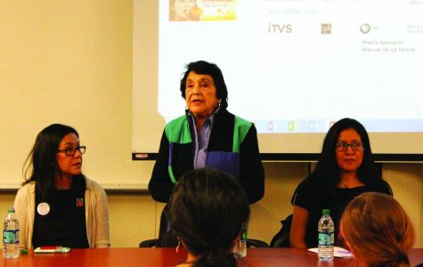 BC history professors host a documentary preview and discussion with activist Dolores Huerta