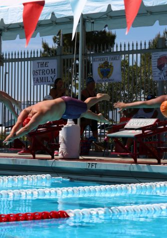 Renegade men's swim team come in with third during Western State Conference Championship