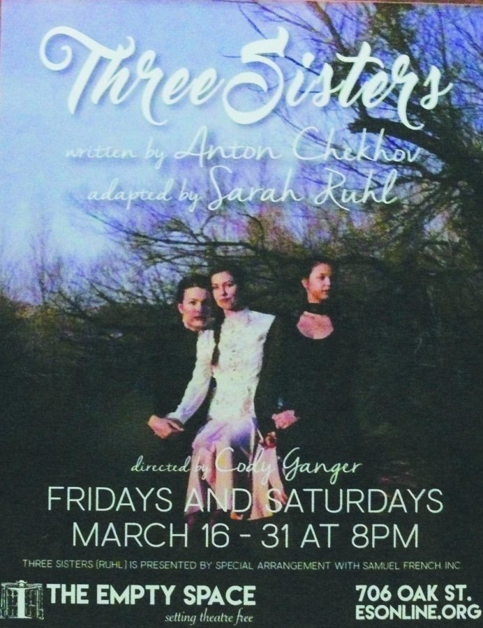 The Empty Space showing begin Mar. 16 to Mar. 31 Fridays and Saturdays at 8p.m.