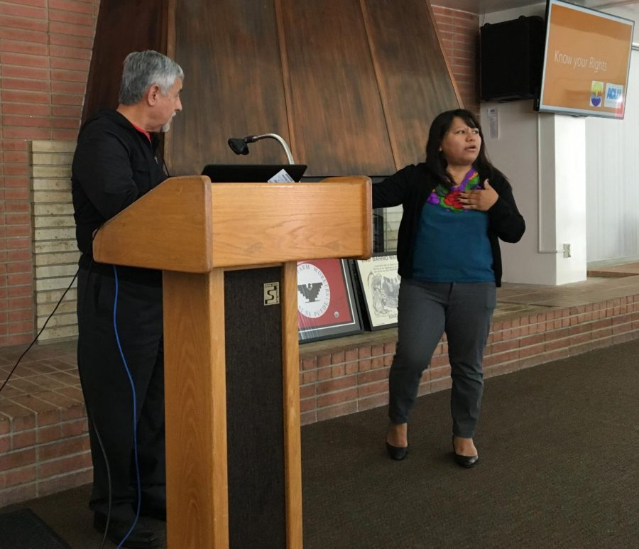 Rapid Response Network of Kern informs and empowers students on immigrant rights
