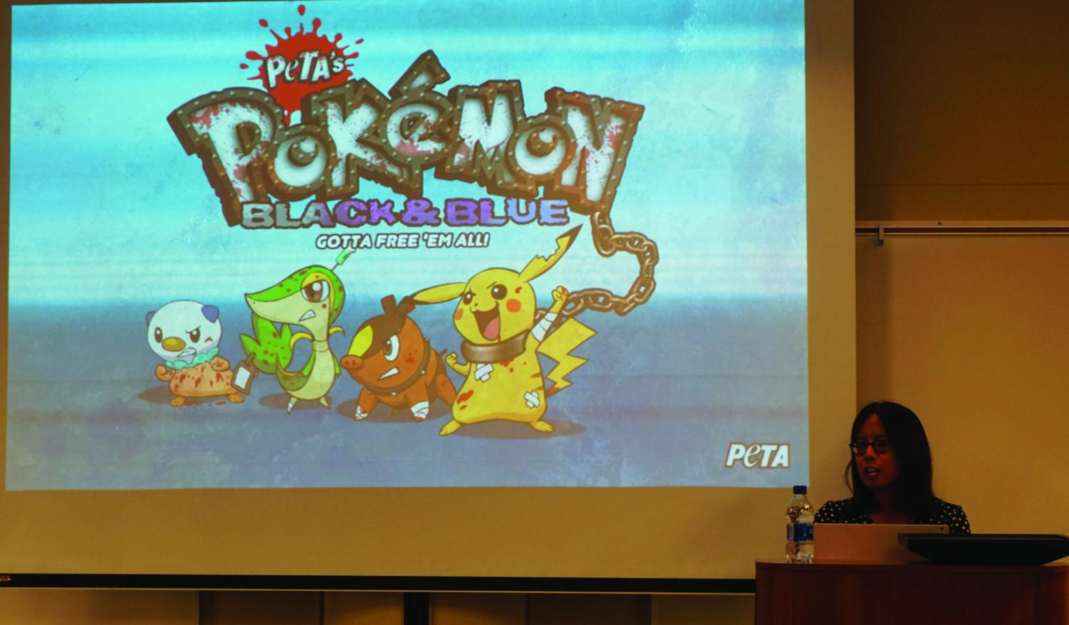 "Alenda Y. Chang talks about the back lash ""Peta's Pokemon Black & Blue, GOTTA FREE 'EM ALL"" received."