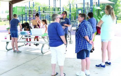 Whitney Weddell holds barbecue rally at Coral Key Park