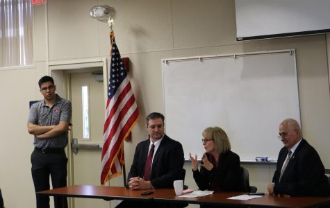 Bakersfield College leaders discuss campus issues to BC students
