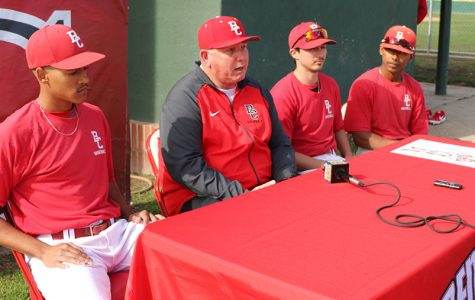 Bakersfield College's Renegade softball and baseball teams give comments on media day