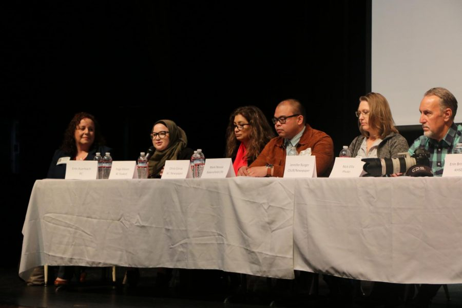 News media professionals speak at Ridgeview for Journalism Day