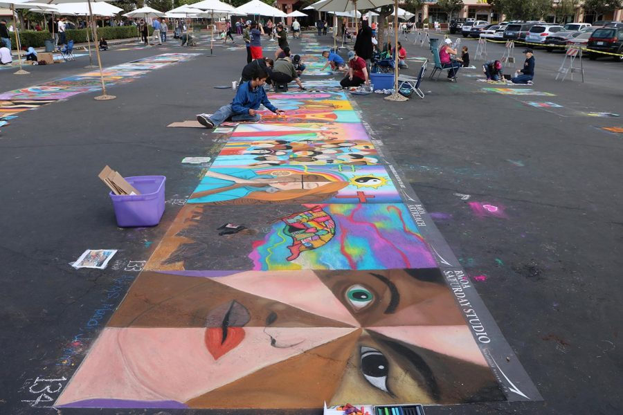 A section of the Via Arte event that is sponsored by the Bakersfield Museum of Art at the Marketplace on Oct. 20.