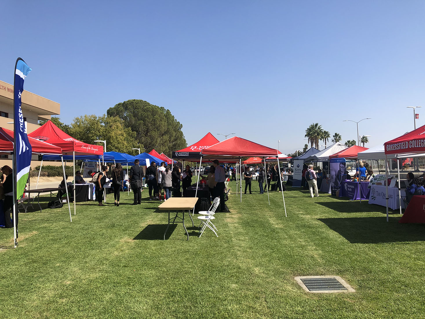 Hospitals in Kern County have attributed their interest in hiring Bakersfield College students to the Healthcare Fair.