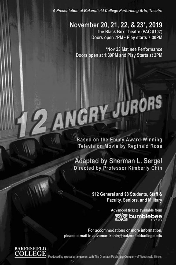 """BC to present """"12 Angry Jurors"""""""