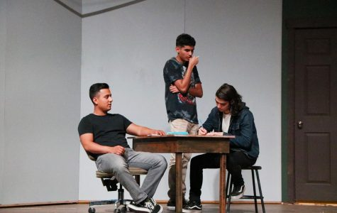 "BC theater presents ""The Pillowman"""