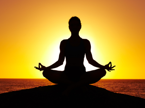 Meditation is a practice that helps people find peace in their lives and helps them relax and calm their minds.