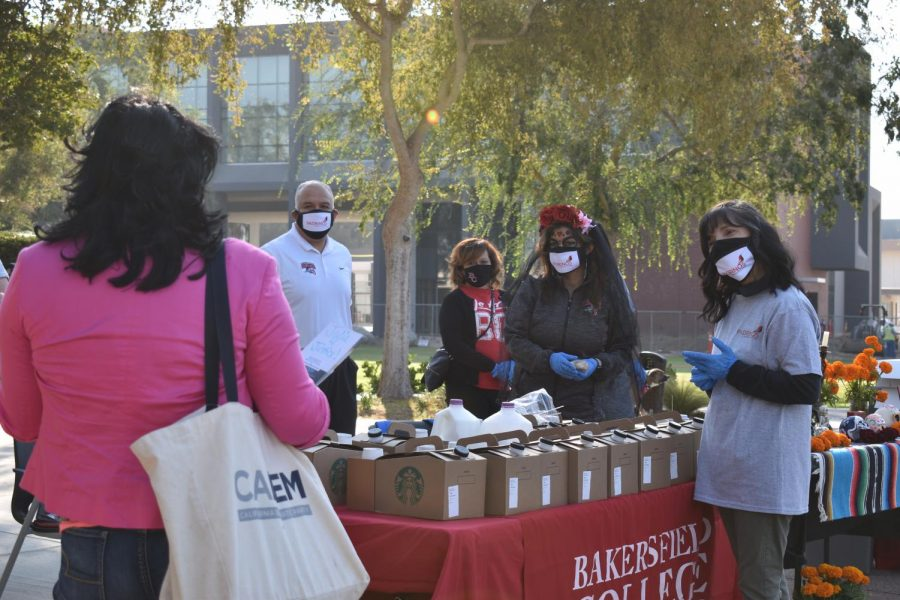 The Padrinos de Bakersfield College hosted a Dia de Muertos celebration curbside festival, curbside event at BC's main campus, Oct. 30.