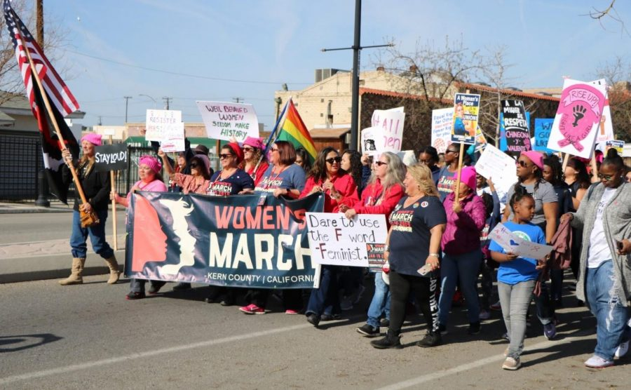The annual Women's March goes virtual in Kern County