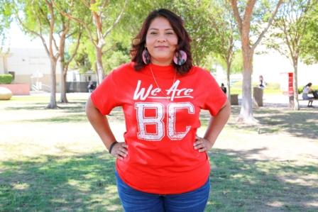 Bakersfield College Student Government Association (BCSGA) 2021-2022 President, Edith Mata.