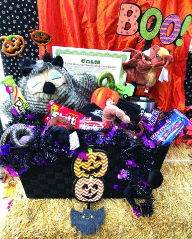 The 2021 Boo at the Zoo raffle basket valued at $200.